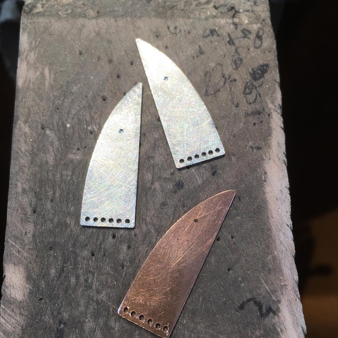 Schablone für Ohrhänger